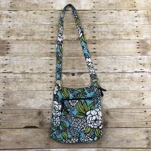 Vera Bradley Hipster Crossbody Purse Island Bloom